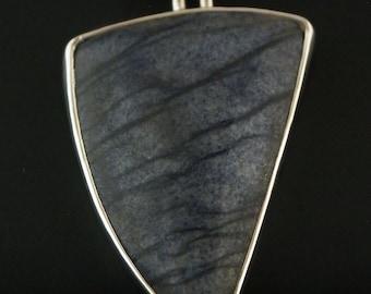 Sterling Silver Blue Aventuren Pendant