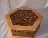 Hexagon Fretwork Box