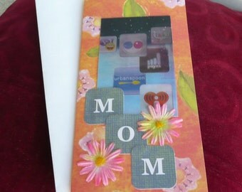 Mother's Day Card Greeting Handmade Creative Unique Ready to Ship