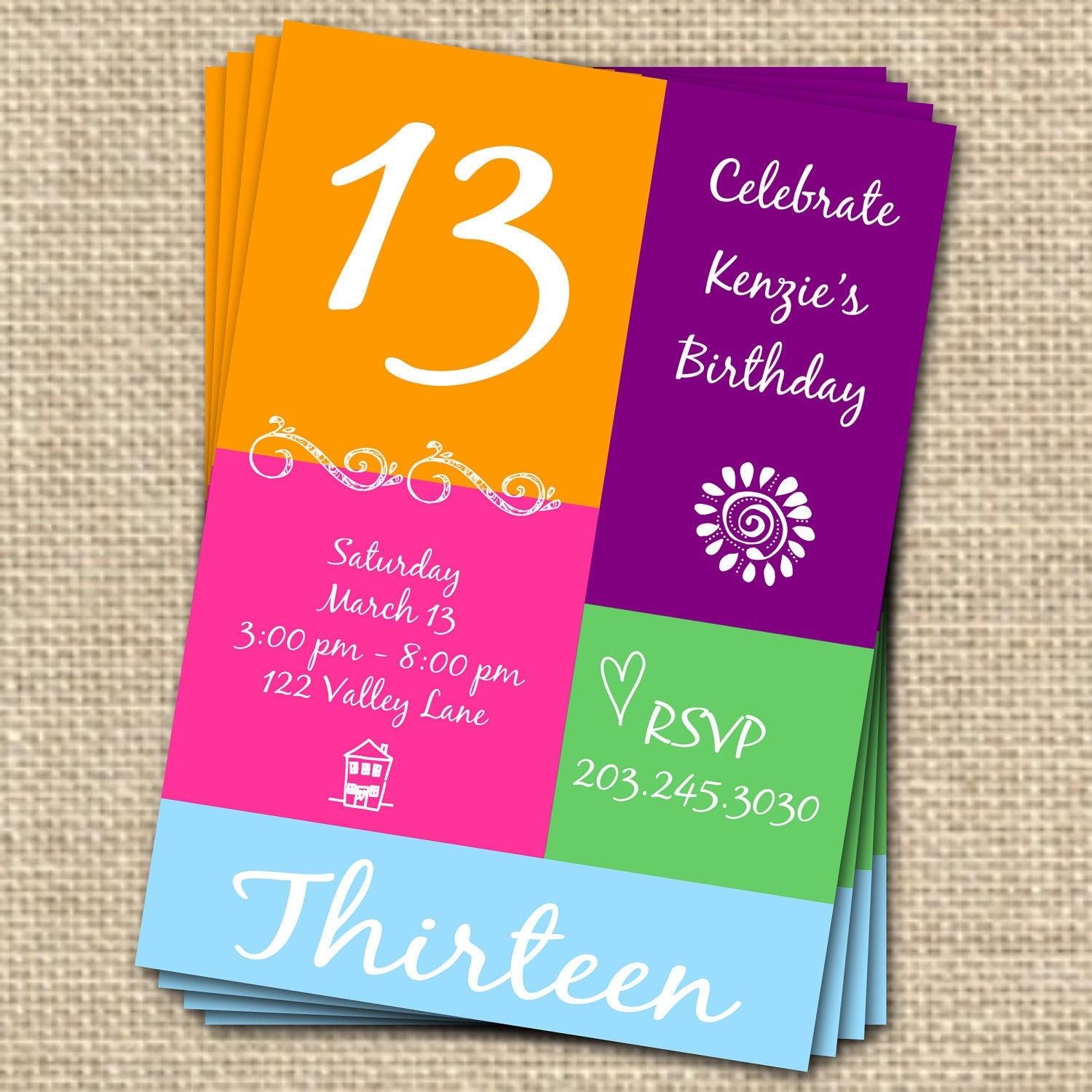 Sample Invitation Wording For 13th Birthday Party Sample Birthday – Invitations for 13th Birthday Party