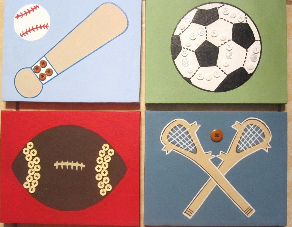 Sports wall decor for nursery ~ Color the walls of your house