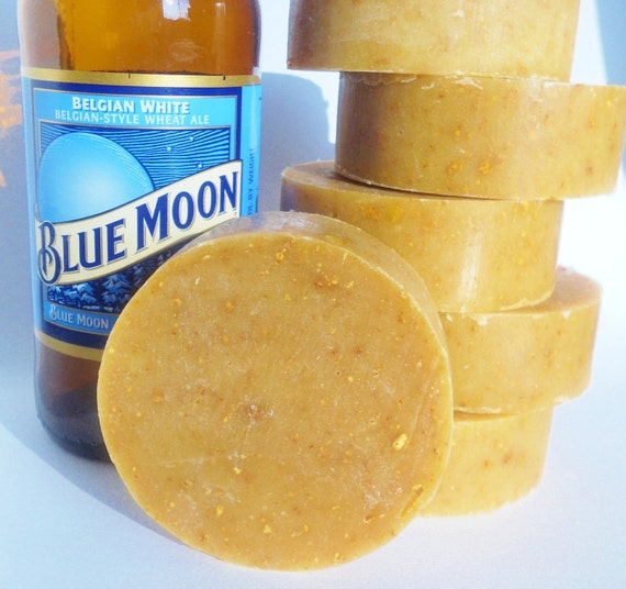 Blue Moon Orange Peel Exfoliating Beer Soap