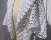Crochet Shrug Sonia collection in white