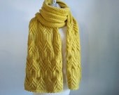 Knitting Stole in extra long