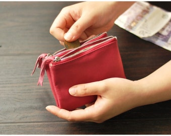 Unisex Leather Wallet - Basic (5 Colors)