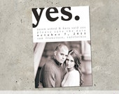 """photo save the date - """"Yes"""""""