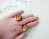 Puzzle Solved - Wooden Puzzle Ring