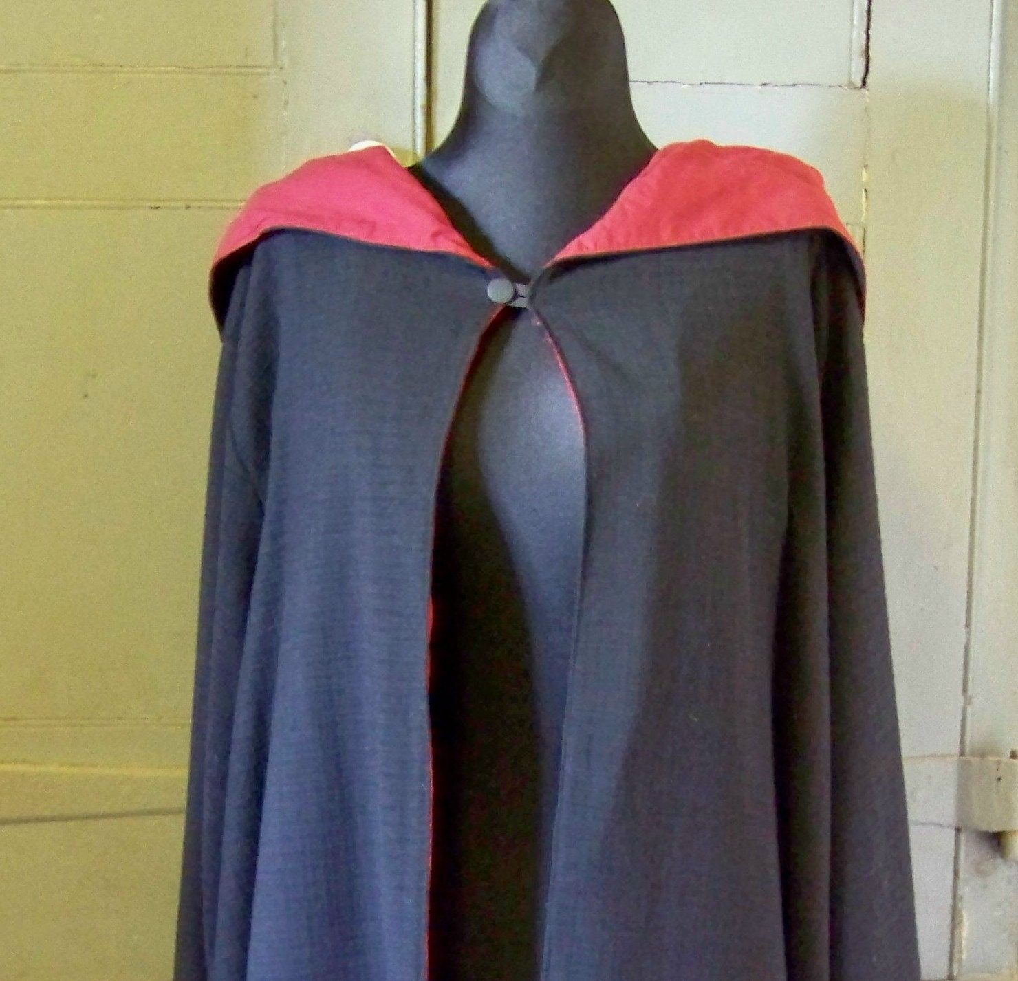 Robe And Wizard Hat: Harry Potter Wizard Robe Gryffindor Black/Red Size S/M Small