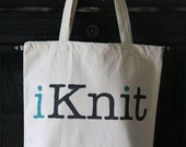 iKnit Large Project Tote Bag