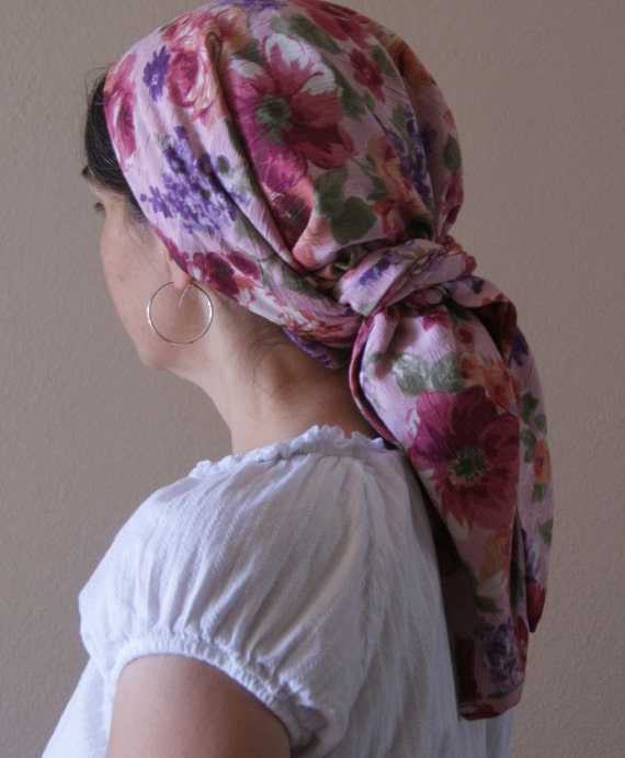 headscarf snood veil headcovering israeli tichel by