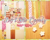 isnt she lovely oner upper scrapbook kit
