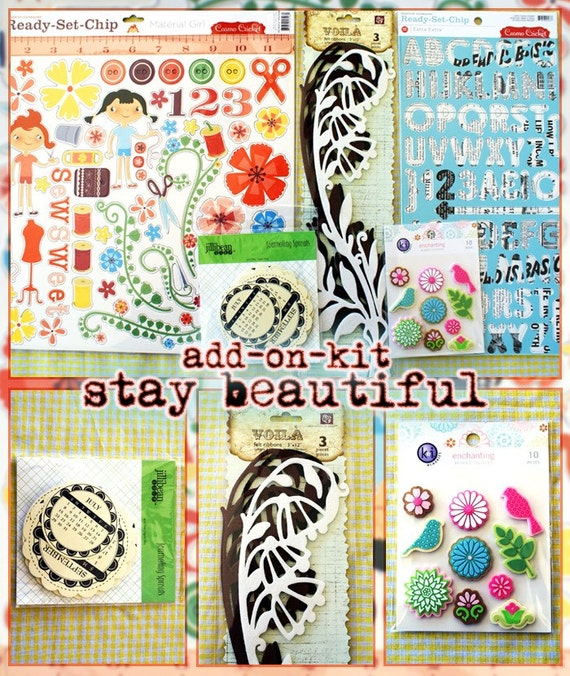 stay beautiful embellishment add on kit
