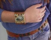 Green Leaf Bracelet By Clayrox