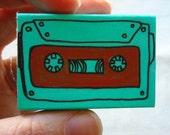Cassette Tape Matchbox Greeting