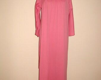 Marvelous Mauve Long Vintage Evening Gown