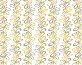 Daisy Janie Tilly- VINERY DAWN- organic cotton fabric-low shipping