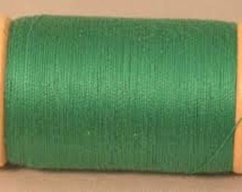 Scanfil Organic Cotton Thread- GRASS 300yd