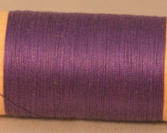 Scanfil Organic Cotton Thread- GRAPE 300yd