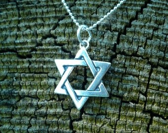 Star of David in Sterling Silver