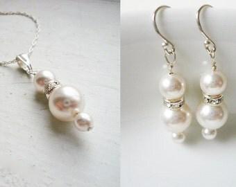 Swarovski Pearl Jewelry Set