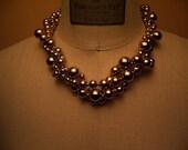 Gold Vintage Monet Redesigned Necklace