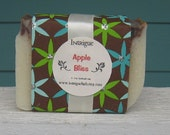 Apple Bliss Shea Butter Cold Process Soap