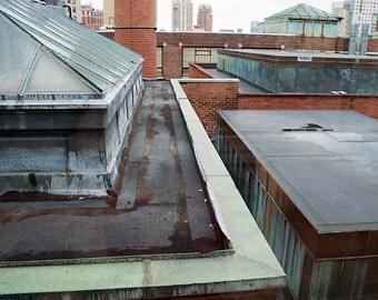 RISD Rooftop - Aluminum Print