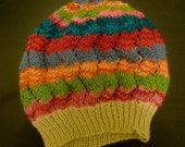 Private Listing- Rainbow Zigzags Hat