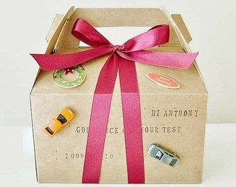 10 Kraft Mini Tote  Bakery  Boxes