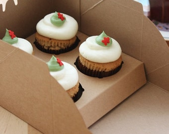 4 Holding Type Cupcake Box  Set -  5boxes