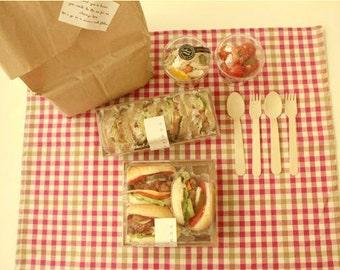 10 kraft sandwich packages