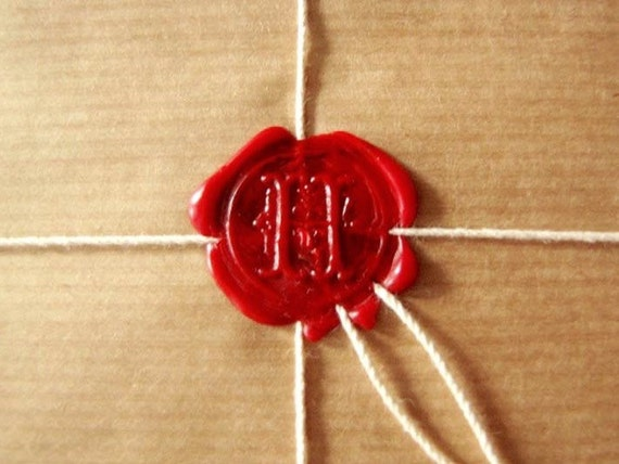 2 wax sealing sticks in 5 colors