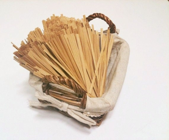 1000 Kraft Paper Twist Ties (Wire Ties)