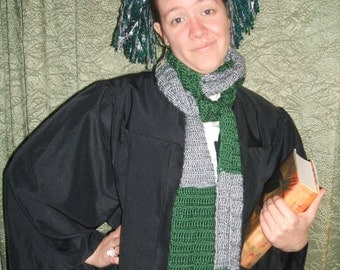 Slytherin First Year Pigtails