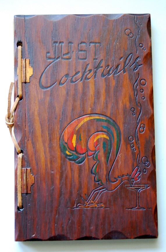 SALE Just Cocktails Book 1939