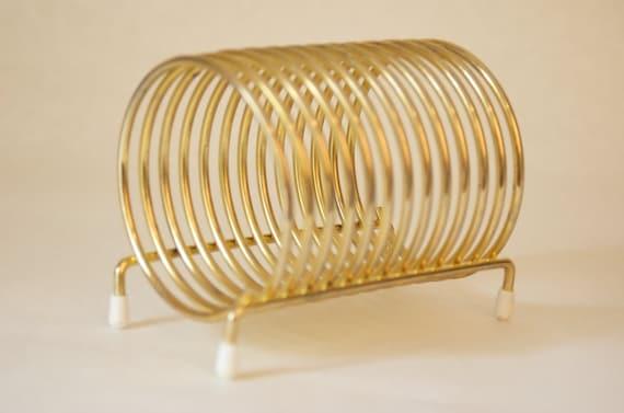 Gold Spiral Letter Sorter