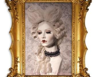 Rococo Powdered Wig- Le Etienne- 1770's Venetian Marie Antoinette Wig by Kathleen Marie