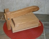 Solid Oak  Tortilla Press