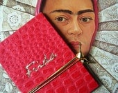 Frida Kahlo Handmade Mini Accordion Book