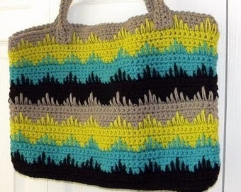 Summer Tote Pattern-Permission to sell finished items.Immediate PDF file download.