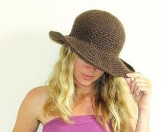 Sun Hat Pattern-Permission to sell finished items.Immediate PDF file download.