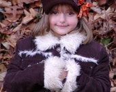Crocheted Newsboy Hat with accent bow/flower