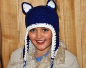 Team  Colored earflap hat