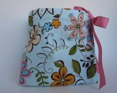 Pacifier Pouch-Pretty Flowers