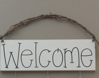 MONTHLY WELCOME SIGN for wall and home decor