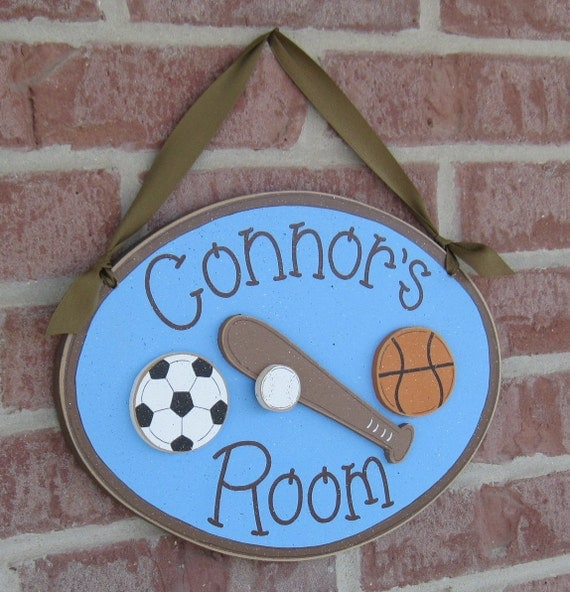 Custom Personalized Name or Word Oval, square or rectangle Sign for children, home, desk, shelf, decor