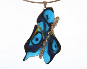 Necklace Farfalla Hand made in NYC