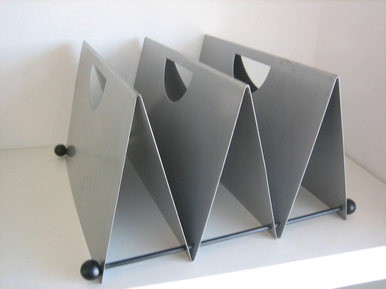 Mid century modern desk organizer or file sorter - Desk organizer sorter ...