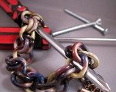 Handmade Glass Chain Bracelet