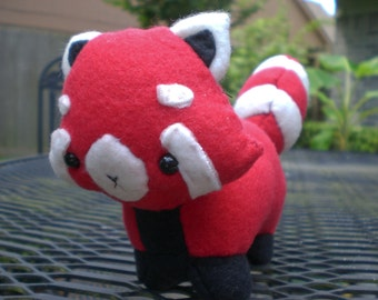 Red Panda Plushie MADE TO ORDER